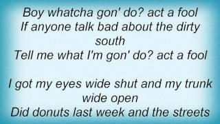 Ludacris   Act A Fool Lyrics