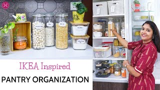 Indian Kitchen Organization Ideas -Pantry Organization Ideas - IKEA Inspired