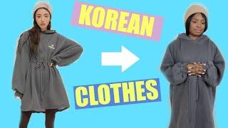 I SPENT $1000 ON KOREAN CLOTHING
