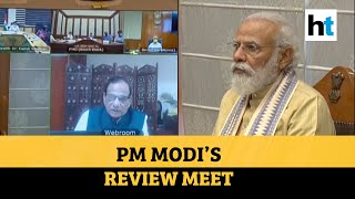 PM Modi lauds Delhi approach during review meet for Covid preparedness - Download this Video in MP3, M4A, WEBM, MP4, 3GP