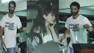 Sara Ali Khan And Sushant Singh Rajput Spotted At Abhishek Kapur Office | Bollywood Events