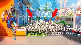 ALL OF THEM WERE HIDING AS THE NUKETOWN MANNEQUINS!?!?! PROP HUNT ON BLACK OPS 3