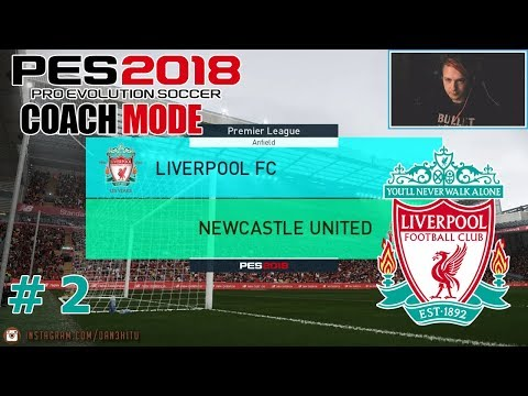 #2 Liverpool FC - Premiership?! - PES 2018 - Master League (LFC)