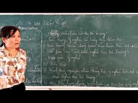 Ôn tập Lịch sử 6 (Chương 3)- Cô Minh Thủy