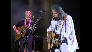 Neil Young & Willie Nelson - Heart of Gold (Live at Farm Aid 1995)