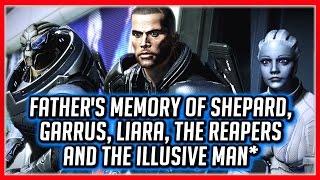 Mass Effect ANDROMEDA: Alec's Last Memory - Shepard, Garrus, Liara, The Reapers & The Illusive Man