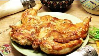 Цыплёнок табака, хит грузинской кухни. Просто, вкусно, недорого.