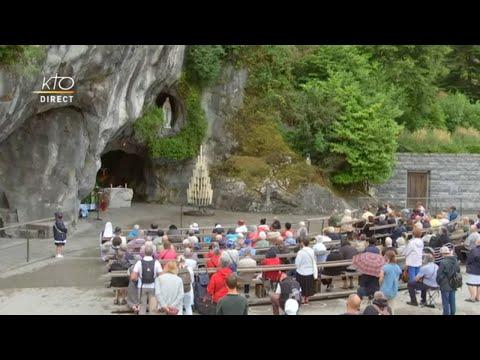 Messe de 10h à Lourdes du 17 juin 2021