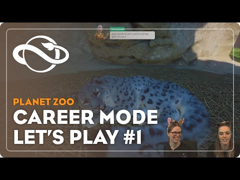 Planet Zoo   Career Mode Let's Play #1