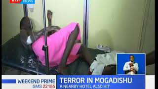 Terror In Mogadishu:At least 45 people have since been recorded dead nearly 24 hours later