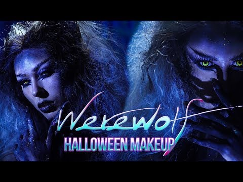 WEREWOLF MAKEUP Halloween Makeup Tutorial Victoria Lyn