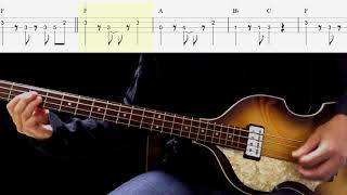 Bass TAB : Soldier Of Love - The Beatles