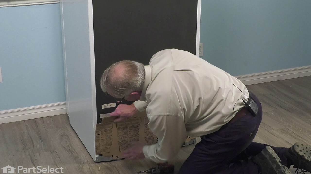 Replacing your General Electric Refrigerator Access Cover