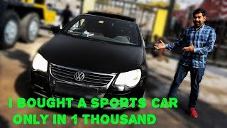 I Bought Sports Car Only In 1 Thousand | Business Idea