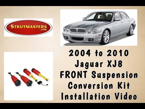 2004-2010 Jaguar XJ8 Front Strut Conversion Installation