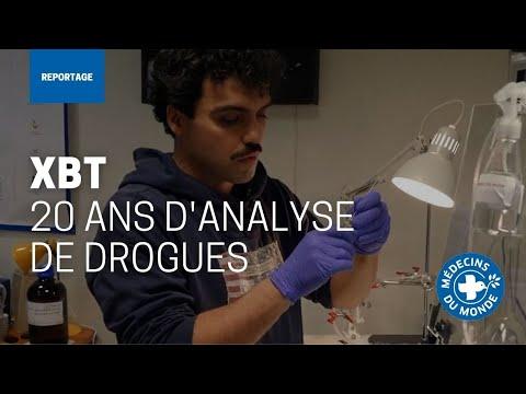 Analyse de drogues : une vidéo pour clôturer le programme XBT