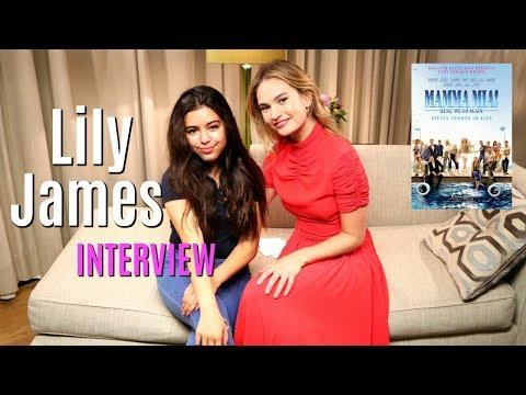 Sophia Grace Interviews Mamma Mia! 2 Star Lily James - Teen Advice