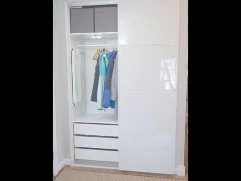 A hall closet video