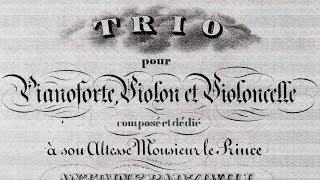 Chopin / Władysław Szpilman, 1950s: Trio in G minor, Op. 8 - Complete