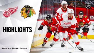 Red Wings @ Blackhawks 2/27/21 | NHL Highlights by NHL