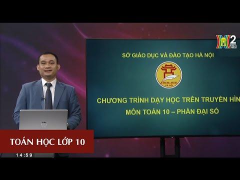 MÔN TOÁN - LỚP 10 | Luyện tập: Bất phương trình bậc nhất hai ẩn | 15H NGÀY 23.03.2020 | HANOITV