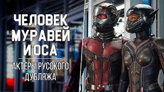 «Человек-Муравей и Оса» — Актеры русского дубляжа | Ant-Man and the Wasp (MARVEL 2018)