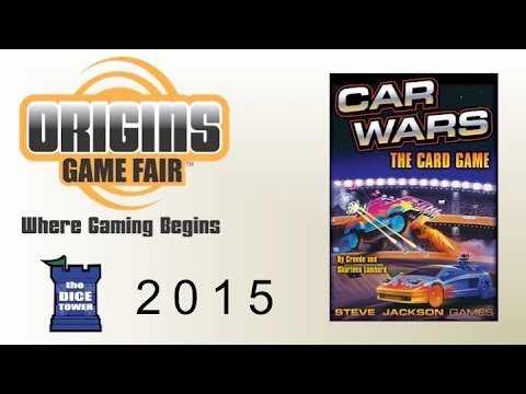 Origins Summer Preview: Car Wars: The Card Game
