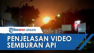 Penjelasan Pertamina soal Video Viral Semburan Api di Langit Cikarang, Ternyata Ini Penyebabnya