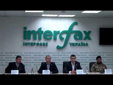 """Трансляция пресс-конференции на тему """"Украинские националисты против продажи земли иностранцам: украинцам украинская земля"""""""