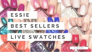 Essie Best Sellers | Live Swatches