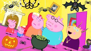 Peppa Pig Official Channel 🕸 Madame Gazelle's Spooky House