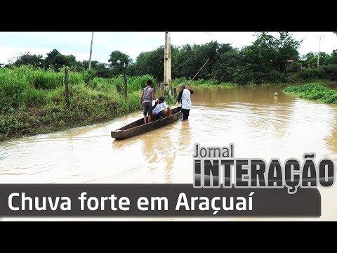 Chuva forte em Araçuaí   09 02 18