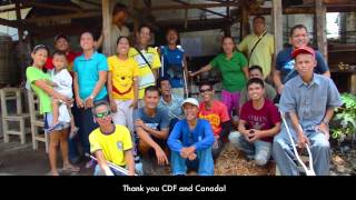 The members of TAPDICO say thank you to the CDF