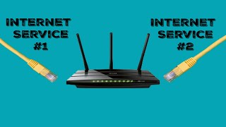 How To Connect 2 Internet Services Into 1 Fast One