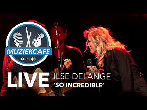 Ilse DeLange - 'So Incredible' live bij Muziekcafé