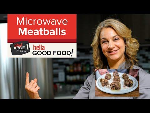 Microwave Meatballs