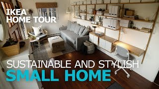 Small, Multi-Purpose Living Room Ideas  - IKEA Home Tour (Episode 314)