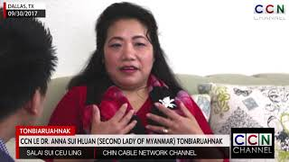 Exclusive Interview with Dr. Anna Sui Hluan (Second Lady of Myanmar)