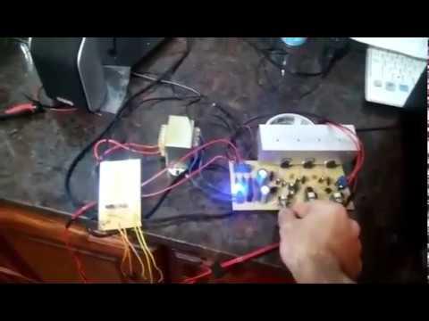 Amplificador 2.1(tda2040) / Audioritmico (tip31)