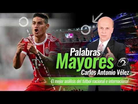 Palabras Mayores: El Madrid clasifico con buen partido de James