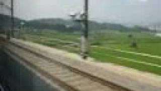 preview picture of video 'KTX Train, Seoul to Mokpo, South Korea'