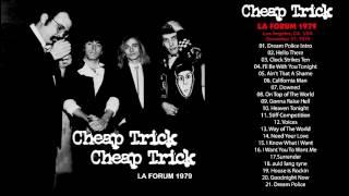 Cheap Trick- LA Forum 1979, December 31, Radio Broadcast Los Angeles CA