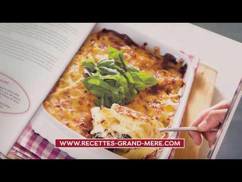 Publicité Hachette Collection Recettes Grand-mère - Marie-Anaïs Migaud