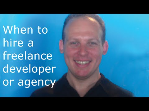 When to hire freelance software developer or contract a web development company