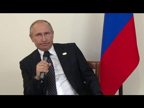 Putin habla del proceso electoral en Estados Unidos