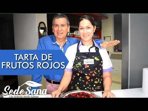 SS18 | TARTA DE FRUTOS ROJOS  | POSTRE SALUDABLE | LUIS ANTONIO MELÓN GÓMEZ