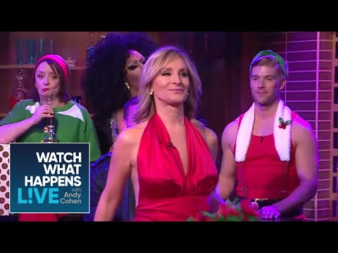 Sonja Morgan's Holiday-Themed Caburlesque! | RHONY | WWHL
