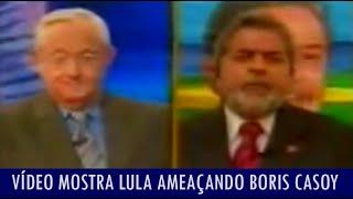 Vídeo Mostra Lula Ameaçando Boris Casoy