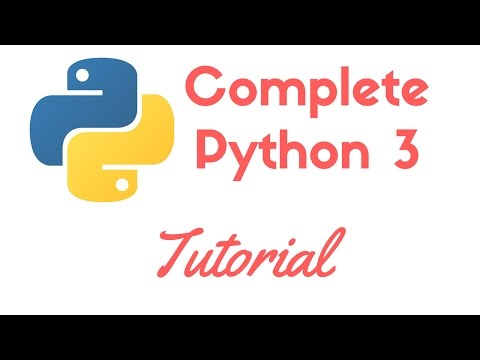 Complete Python Programming Tutorial for Beginners