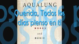 Aqualung - Can't Get You Out Of My Mind